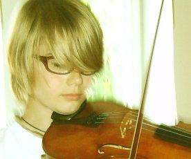 Valerio, 11 Jahre, spielt Geige seit 5 Jahren
